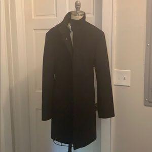 NEW with tags Club Monaco Black pea coat